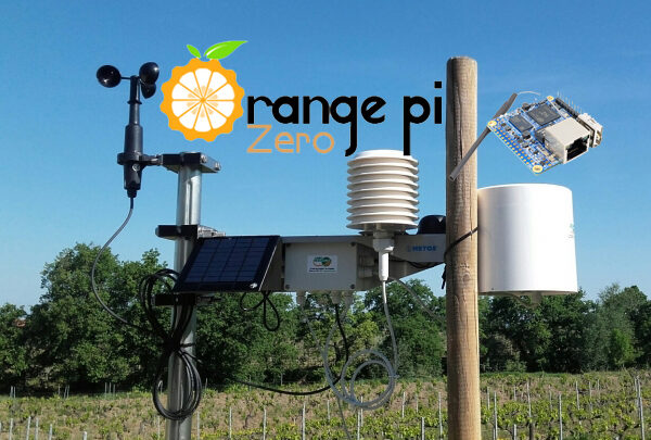 Installer weewx sur Orange PI zero
